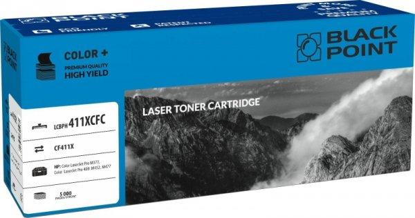 Black Point toner LCBPH411XCFC zastępuje HP CF411X, cyan