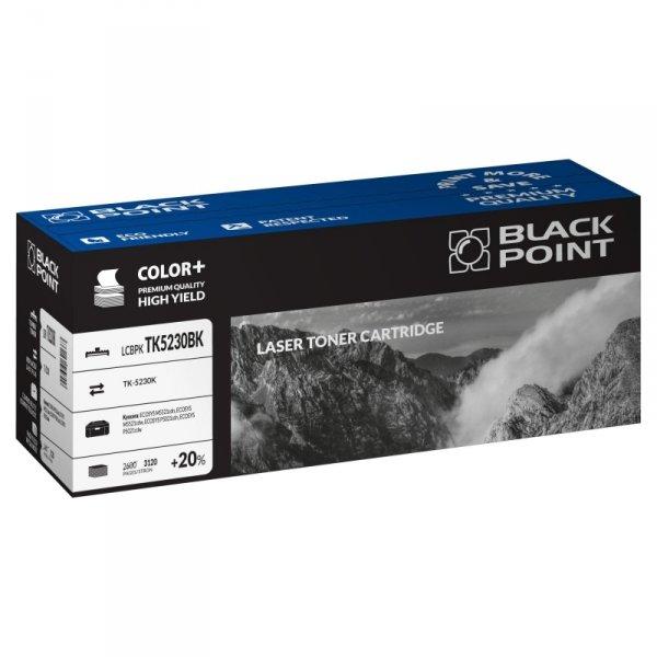 Black Point toner LCBPKTK5230BK zastępuje Kyocera TK-5230K, czarny, 3120 str.