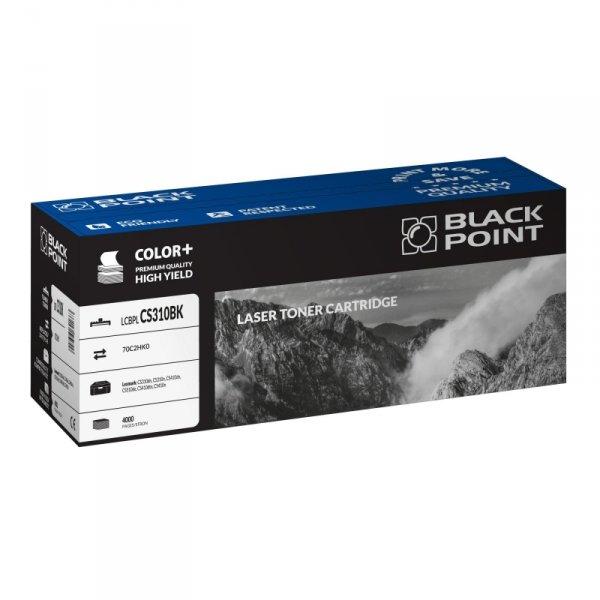 Black Point toner LCBPLCS310BK zastępuje Lexmark 70C2HK0 , czarny