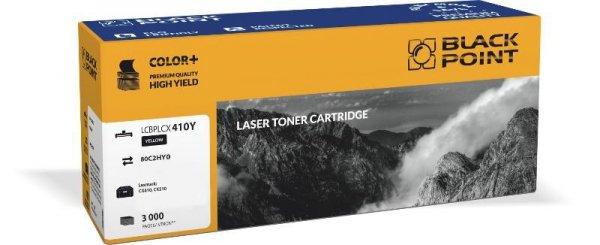 Black Point toner LCBPLCX410Y zastępuje Lexmark 80C2HY0, żółty