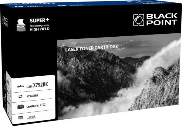 Black Point toner LCBPLX792BK zastępuje Lexmark X792X1KG, czarny