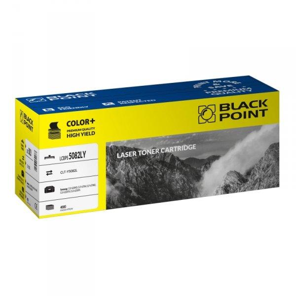 Black Point toner LCBPS5082LY zastępuje Samsung CLT-Y5082L, żółty