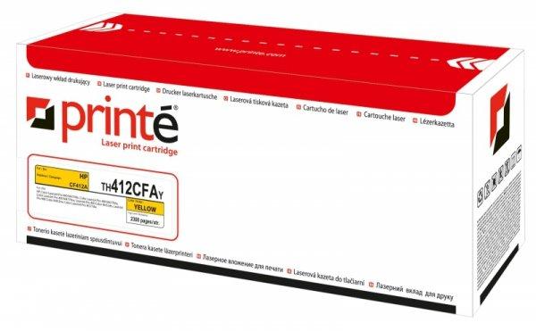 Printé toner TH412CFAY  zastępuje HP CF412A, żółty