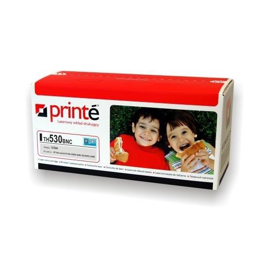 Printé toner TH530BNC zastępuje HP / Canon CC530A / CRG-718B, czarny