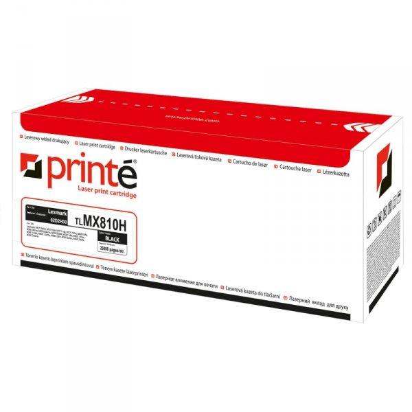 Printé toner TLMX810H zastępuje Lexmark 62D2H00