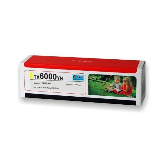 Printé toner TX6000YN zastępuje Xerox 106R01633, żółty