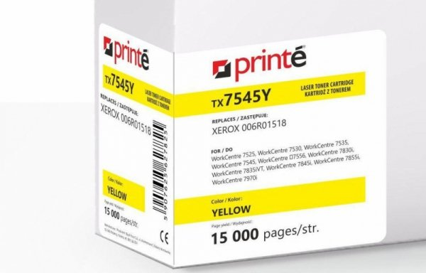 Printé Toner TX7545Y (Xerox 006R01518) yellow