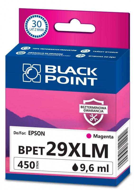 Black Point tusz BPET29XLM zastępuje Epson C13T29934012, magenta
