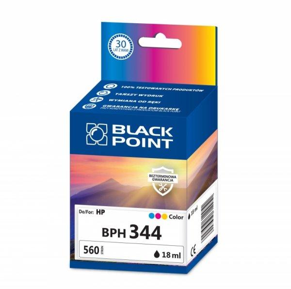 Black Point tusz BPH344 zastępuje HP C9363EE, trójkolorowy