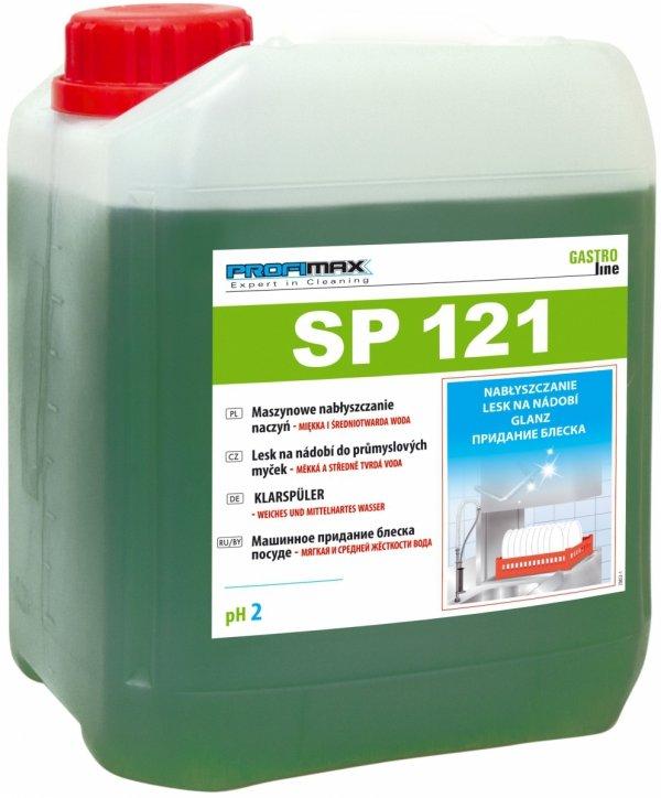 PROFIMAX SP 121 - maszynowe nabłyszczanie naczyń (woda miękka i średniotwarda) 5L