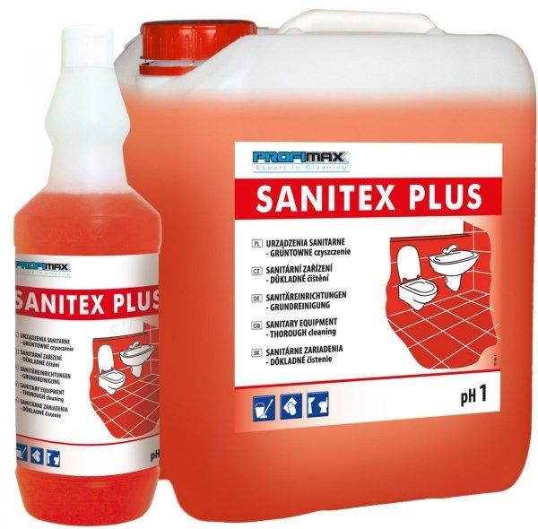 SANITEX PLUS LAKMA - środek do sanitariatów 5l - gruntowne czyszczenie