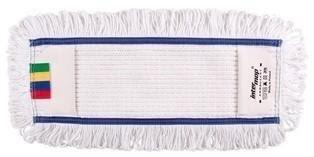 Mop kieszeniowy bawełna biała tuft krzyżowy linia premium 40cm Petelkowo – Cięty