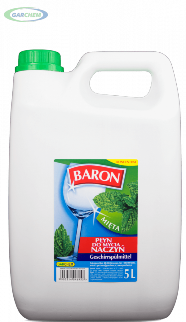 Płyn do mycia naczyń Baron koncentrat 5L