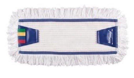 Mop Tes bawełna biała tuft krzyżowy linia premium  40cm Pętelkowy