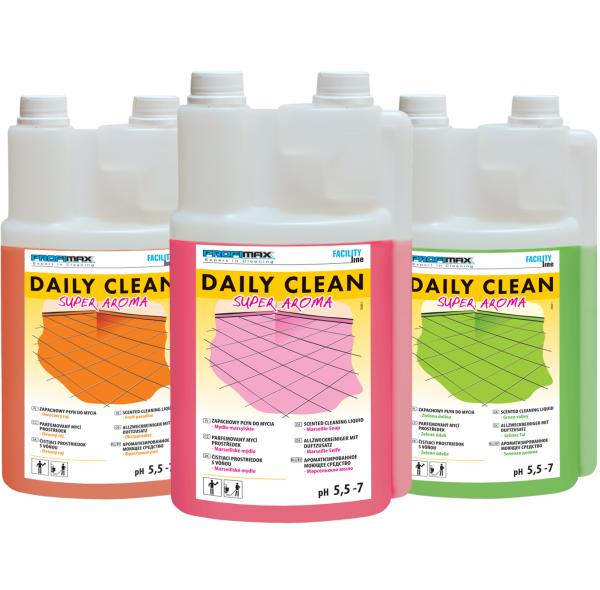 DAILY CLEAN Super Aroma - do zapachowego mycia - mydło marsylskie 5l
