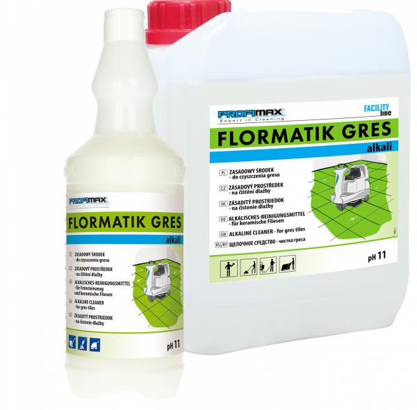 FLORMATIK GRES ALKALI - zasadowy środek do czyszczenia gresu 10l