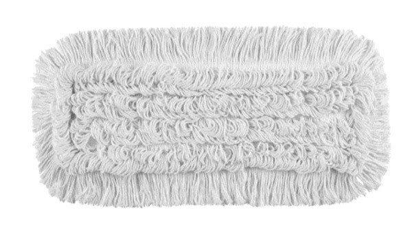 Mop Tes (2 oczka) bawełna biała linia premium 40cm Pętelkowo – Ciety