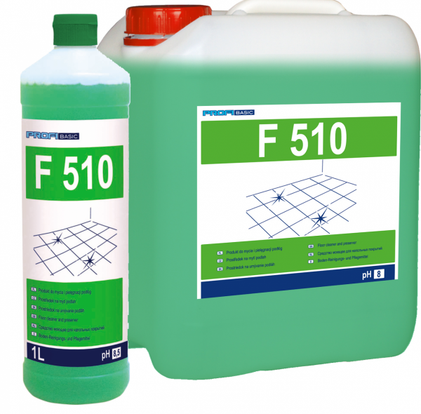 PROFIBASIC F 510 - do mycia i pielęgnacji podłóg 5L