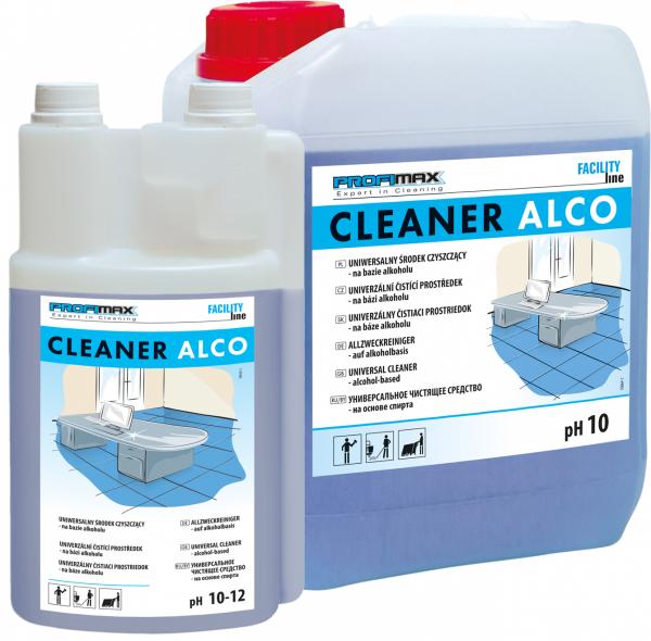 CLEANER ALCO - uniwersalny środek czyszczący na bazie alkoholu 5l