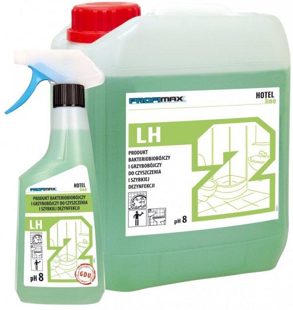 LH2środek bakteriobójczy i grzybobójczy do czyszczenia i szybkiej dezynfekcjiKONCENTRAT