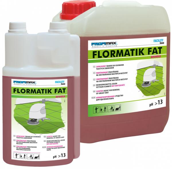 FLORMATIK FAT AROMA - zapachowy środek do usuwania tłustego brudu  5l