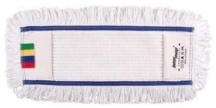 Mop kieszeniowy bawełna biała tuft krzyżowy linia premium 50cm Pętelkowo – Cięty