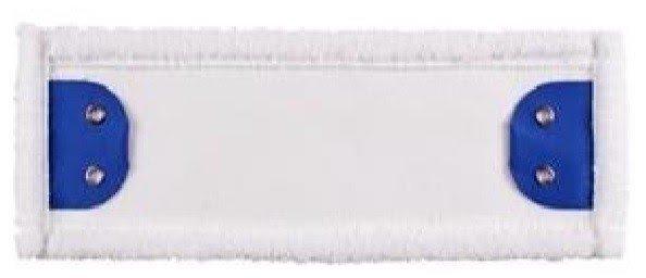 Mop Tes (2 oczka) mikrofaza biała linia standard 50cm