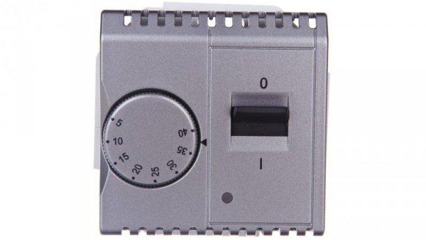 Simon Basic Regulator temperatury z czujnikiem wewnętrznym stal inox BMRT10w.02/21