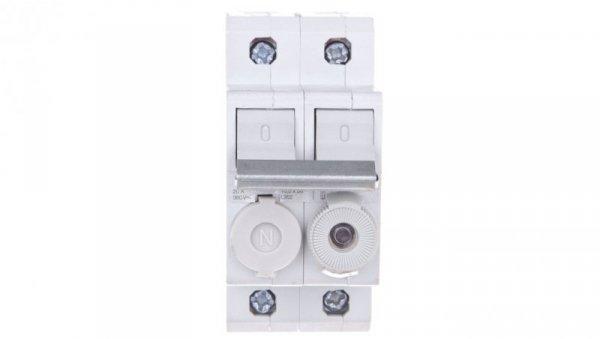 Rozłącznik bezpiecznikowy cylindryczny 2P 10x38mm L95200