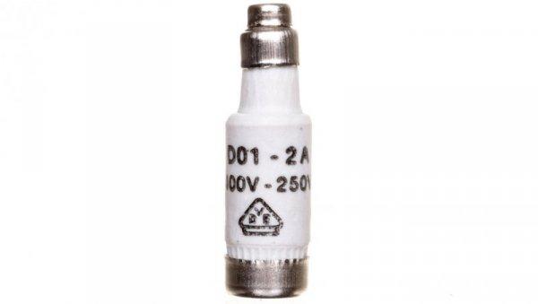 Wkładka bezpiecznikowa BiWtz 2A D01 gL/gG 400V LE1402 /10szt./