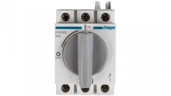 Rozłącznik izolacyjny 3P 20A HAB302