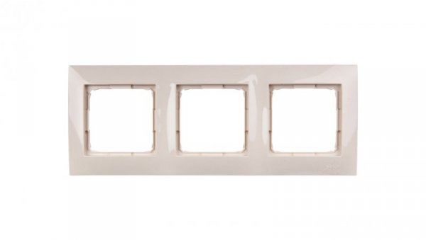 Simon 54 Premium Ramka potrójna kremowa /do karton-gips/ DRK3/41