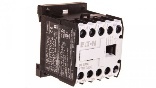 Stycznik mocy 9A 4P 400VAC 0Z 0R  DILEM4(400V50HZ,440V60HZ) 051806