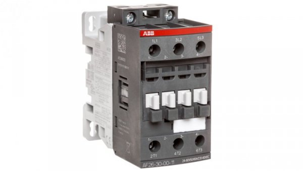 Stycznik mocy 26A 3P 11kW 24-60V50/60HZ 20-60VDC 0Z 0R AF26-30-00-11 1SBL237001R1100