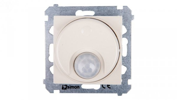 Simon 54 Czujnik ruchu z przekaźnikiem i zabezpieczeniem kremowy DCR11P.01/41