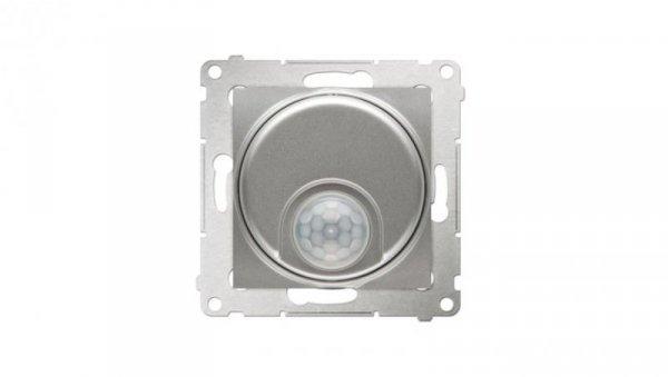 Simon 54 Czujnik ruchu tranzystorowy i zabezpieczeniem srebrny mat DCR11T.01/43