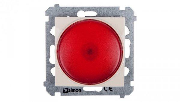 Simon 54 Sygnalizator świetlny LED czerwone światło kremowy DSS2.01/41