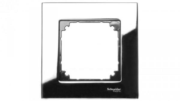 Merten M-Elegance Ramka pojedyncza metalowa chrom MTN403139