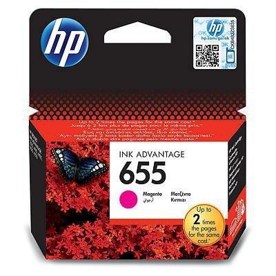 Tusz HP 655 Magenta
