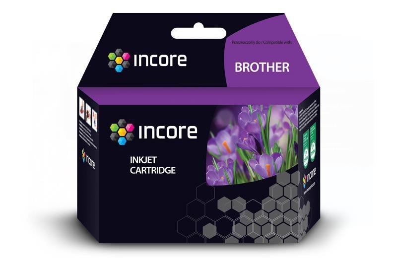 Tusz INCORE do Brother (LC980BK) Black 35 ml