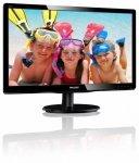 Philips Monitor 19.53 200V4QSBR LED MVA DVI Czarny