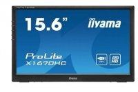 IIYAMA Monitor przenośny 15.6 cala X1670HC-B1 FHD,IPS,USB-C,ACR 80M:1