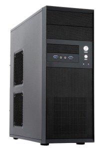 Chieftec CQ-01B-U3-OP Mesh Midi Tower Black