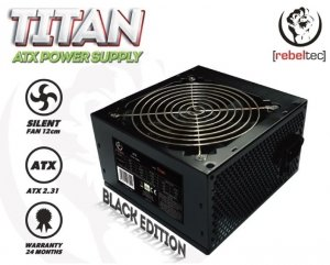 Rebeltec Zasilacz uniwersalny komputerowy ATX ver. 2.31 TITAN 450