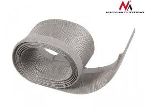 Maclean Maskownica kabli 1.8 m 85mm MCTV-675 S Srebrna