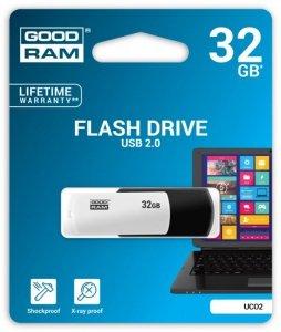 GOODRAM COLOUR BLACK&WHITE 32GB USB2.0