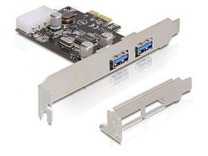 Delock Karta PCI Express -> USB 3.0 2-port