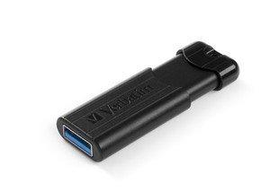 Verbatim PinStripe USB 3.0 Drive 16GB Black