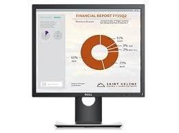Dell Monitor 19 P1917S IPS LED SXGA 1280x1024 /5:4/HDMI(1.4)/DP(1.2)/VGA/2xUSB 2.0/3xUSB 3.0/3Y PPG