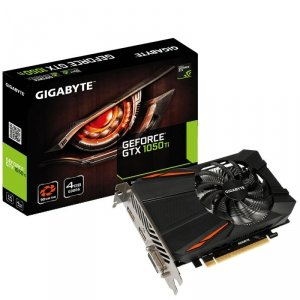Gigabyte Karta graficzna GeForce GTX 1050 Ti D5 4GB GDDR5 128BIT DVI-D/HDMI/DP